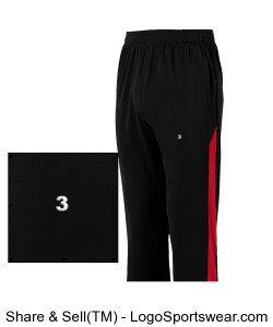 Youth Warm up pant Design Zoom